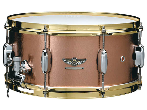 """TAMA《タマ》 """"STAR Reserve Snare Drum #4"""" TCS1465H [HAND HAMMERED COPPER]【お取り寄せ商品】"""
