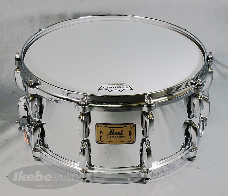 "Pearl《パール》 MZ1465S/C #MC [Z-Type Maple / Mirror Chrome Covering] 【""Z-Type Maple""が限定で復活!! 】"