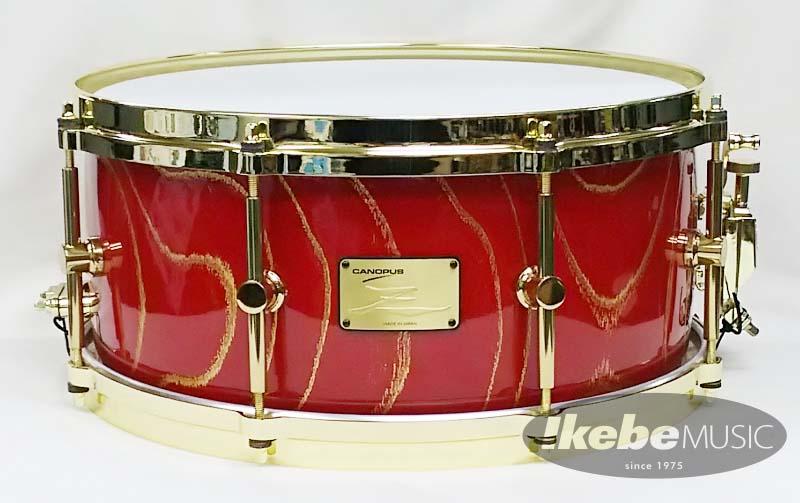 CANOPUS 《カノウプス》 HS-1465-EL [ Zelkova / FRPハードケース付属][Custom Snare Drum] 【限定1台のShow Model!】