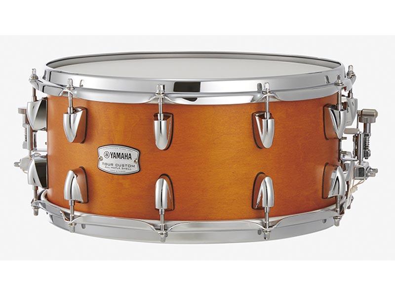 YAMAHA 《ヤマハ》 All TMS1465CRS [Tour YAMAHA Custom/ Custom All Maple Shell Snare Drum/ 14