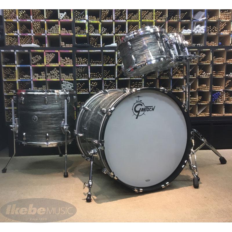 GRETSCH《グレッチ》 GB-E8246-301 [Brooklyn Series Drumset / Gray Oyster] [BD22、FT16、TT10&12] 【ダブルタムスタンド・サービス!】