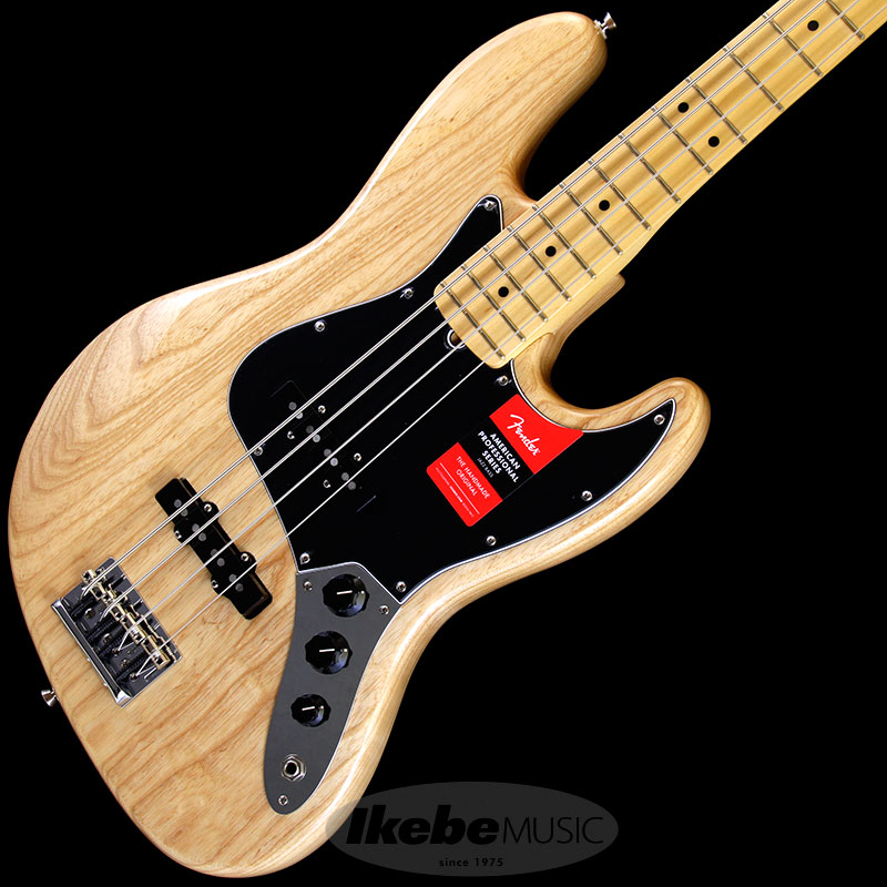 Fender 《フェンダー》 American Professional Jazz Bass (Natural/Maple) [Made In USA] 【b_p5】