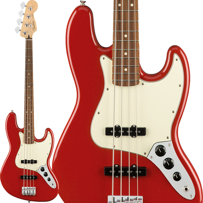 Fender フェンダー Player Jazz Bass (Sonic Red/Pau Ferro) [Made In Mexico] 【即納可能】【FENDER THE AUTUMN-WINTER 2018 CAMPAIGN】