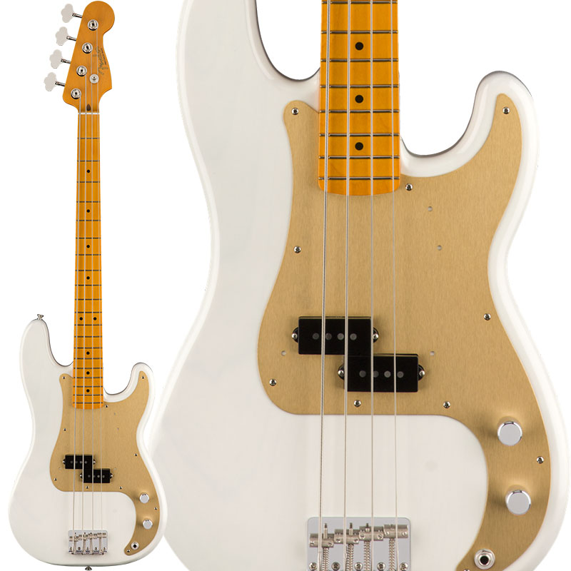 Fender フェンダー Classic Series '50s Precision Bass Lacquer (White Blonde) [Made In Mexico] 【お取り寄せ商品】