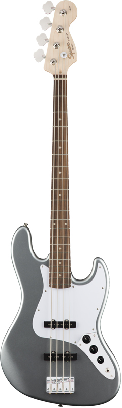 Squier by Fender《スクワイヤーbyフェンダー》 Affinity Series Jazz Bass (Slick Silver)【特価】