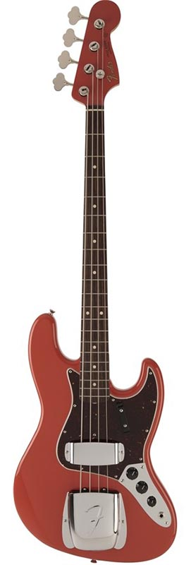 Fender 《フェンダー》 2018 Limited Collection 60s Jazz Bass (Fiesta Red) [Made in Japan]【b_p5】