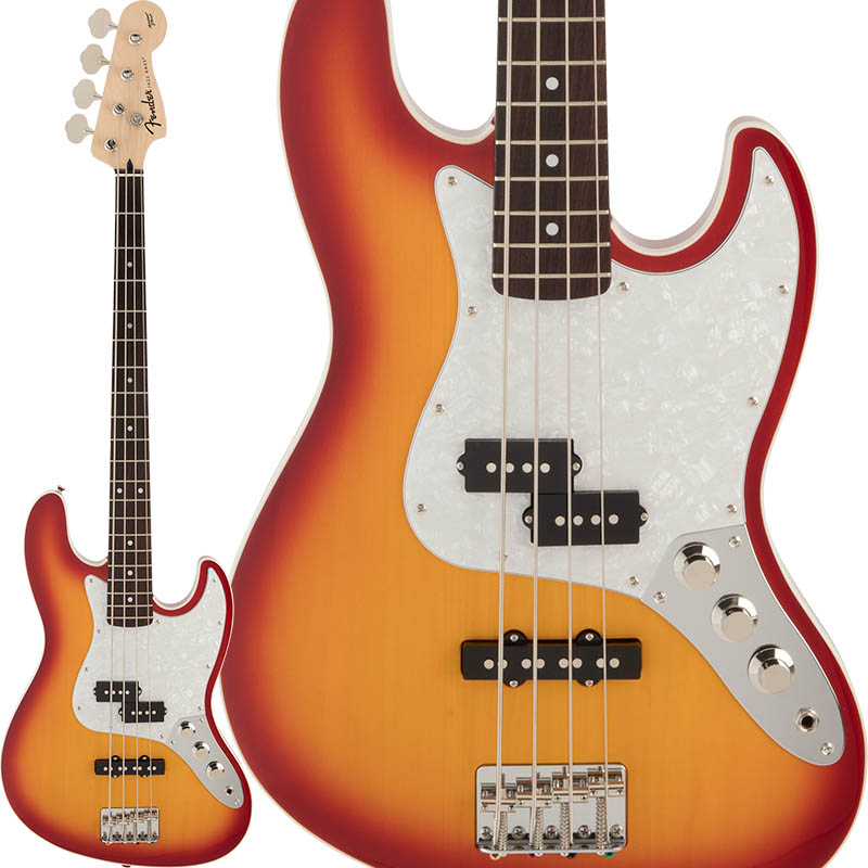 全国総量無料で Fender Japan]【b_p5】 《フェンダー》 FSR Aerodyne FSR Jazz Bass (Sienna Sunburst) in [Made in Japan]【b_p5】, バリュークラブ:b081de18 --- enduro.pl