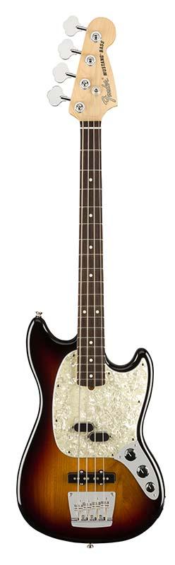 Fender 《フェンダー》 American Performer Mustang Bass (3-Color Sunburst) 【即納可能】【b_p5】