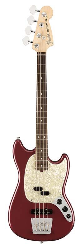 Fender 《フェンダー》 American Performer Mustang Bass (Aubergine) 【即納可能】【b_p5】