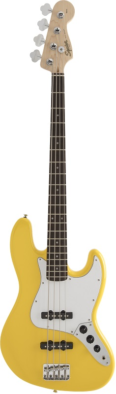 Squier by Fender《スクワイヤーbyフェンダー》 FSR Affinity Series Jazz Bass (Graffiti Yellow)