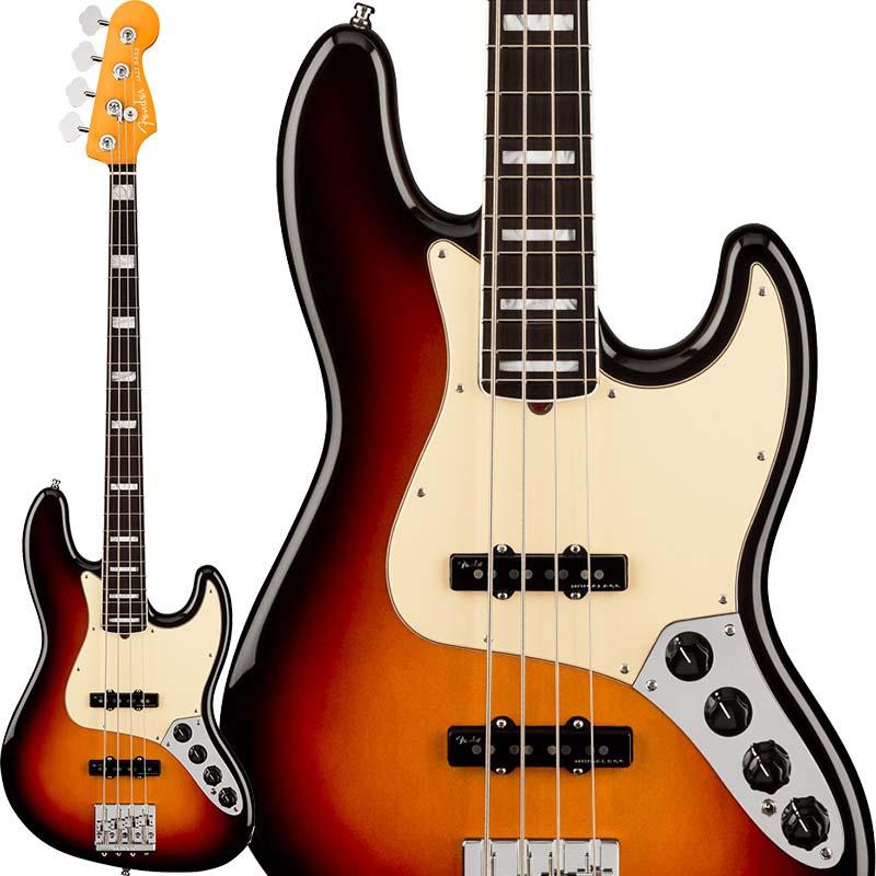 Fender 《フェンダー》 American Ultra Jazz Bass (Ultraburst/Rosewood)