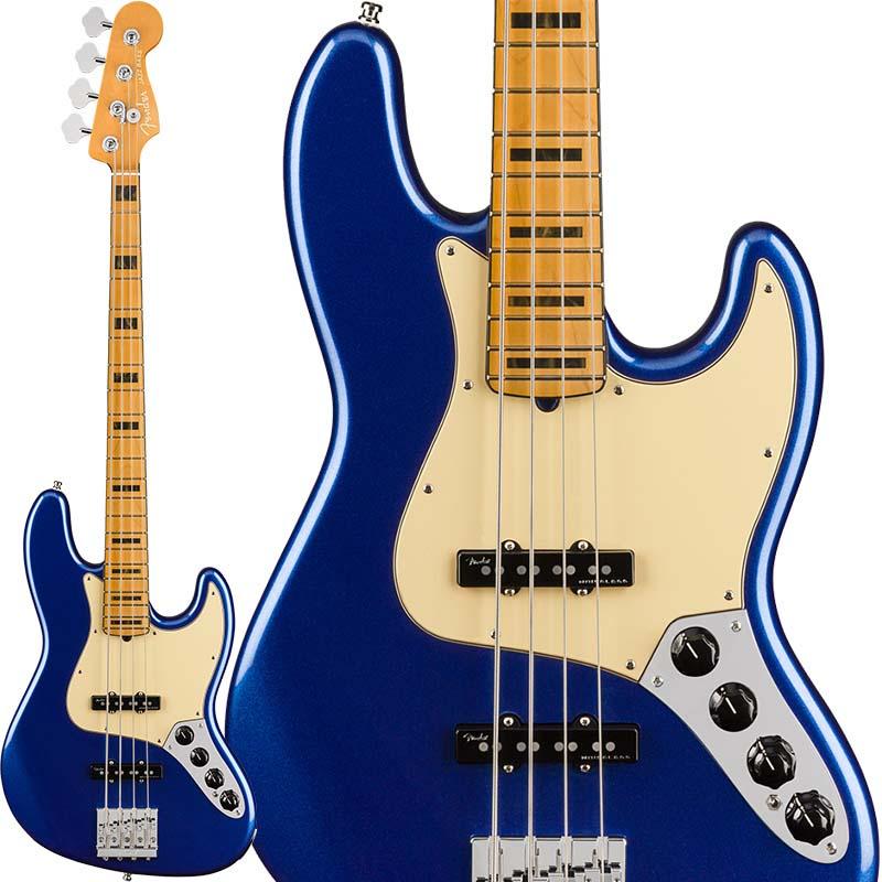 Fender 《フェンダー》 American Ultra Jazz Bass (Cobra Blue/Maple)