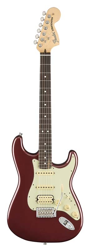 Fender 《フェンダー》 American Performer Stratocaster HSS (Aubergine) [Made In USA] 【g_p5】