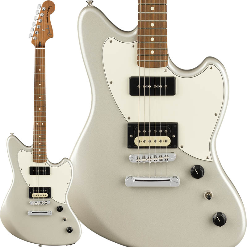 【楽ギフ_のし宛書】 Fender 《フェンダー》 Alternate (White Reality In Powercaster [Made【g_p5】 In Mexico] (White Opal/Pau Ferro Fingerboard)【g_p5】, ニシヨドガワク:e34f05e2 --- totem-info.com