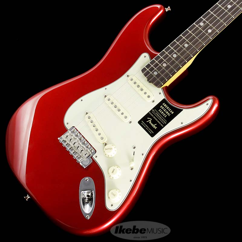 Fender 《フェンダー》 American Original '60s Stratocaster (Candy Apple Red) [Made In USA]【g_p5】