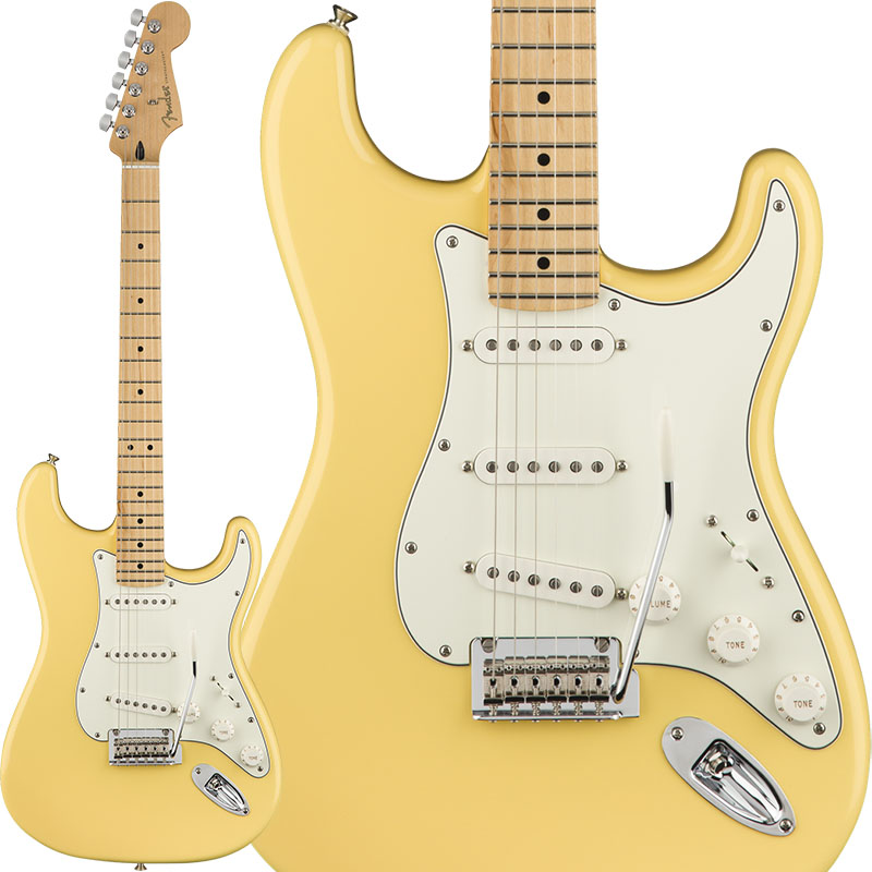 Fender 《フェンダー》 Player Stratocaster (Buttercream/Maple) [Made In Mexico]【FENDER THE AUTUMN-WINTER 2018 CAMPAIGN】