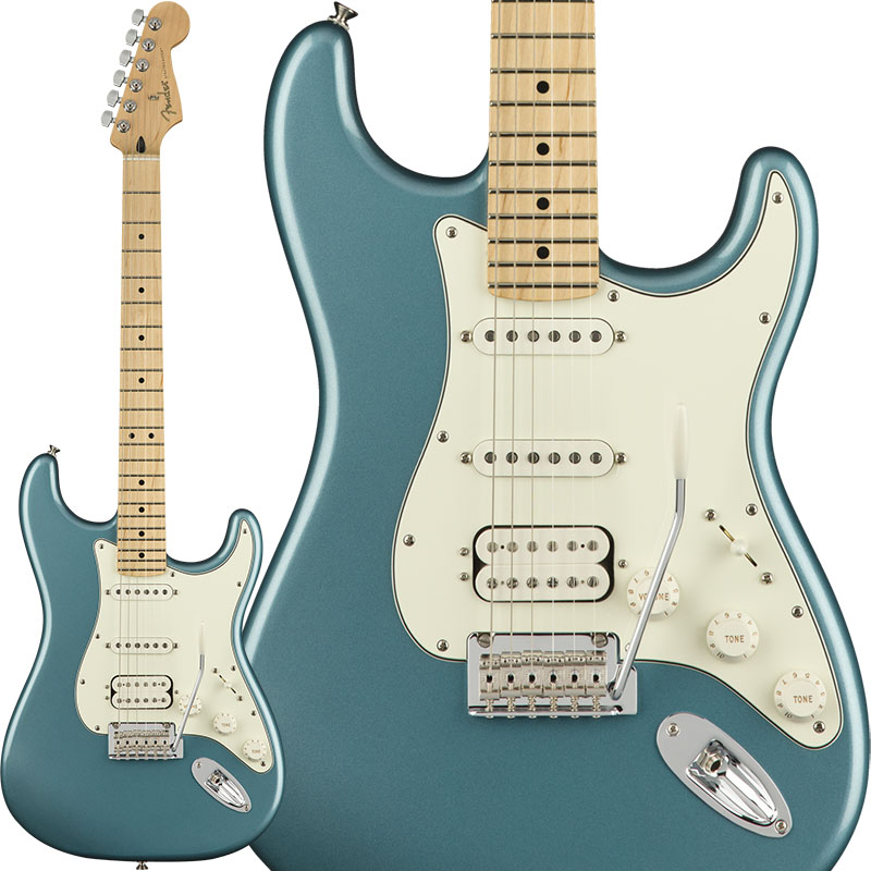 Fender 《フェンダー》 Player Stratocaster HSS (Tidepool/Maple) [Made In Mexico] 【g_p5】