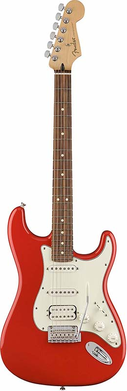 Fender 《フェンダー》 Player Stratocaster HSS (Sonic Red/Pau Ferro) [Made In Mexico]【g_p5】