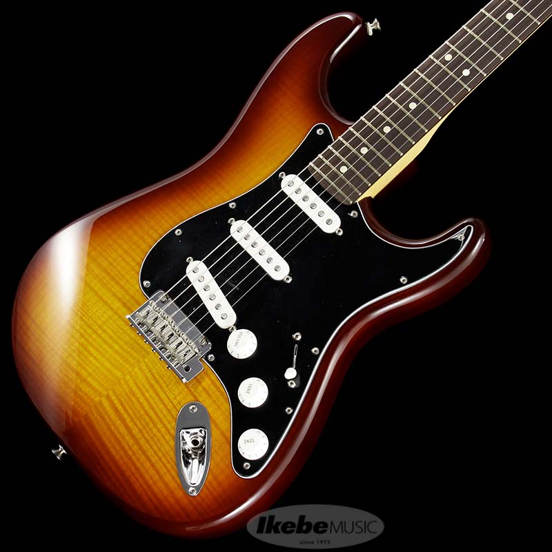 Fender 《フェンダー》 Player Stratocaster Plus Top (Tobacco Sunburst/Pau Ferro) [Made In Mexico]【FENDER THE AUTUMN-WINTER 2018 CAMPAIGN】