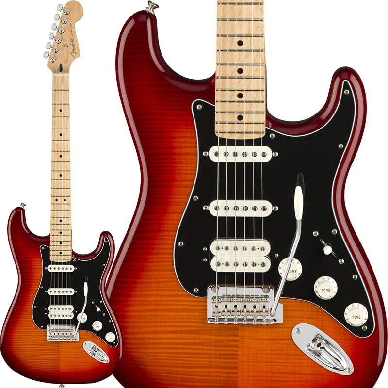 Fender 《フェンダー》 Player Stratocaster HSS Plus Top (Aged Cherry Burst/Maple) [Made In Mexico] 【7月以降順次入荷】