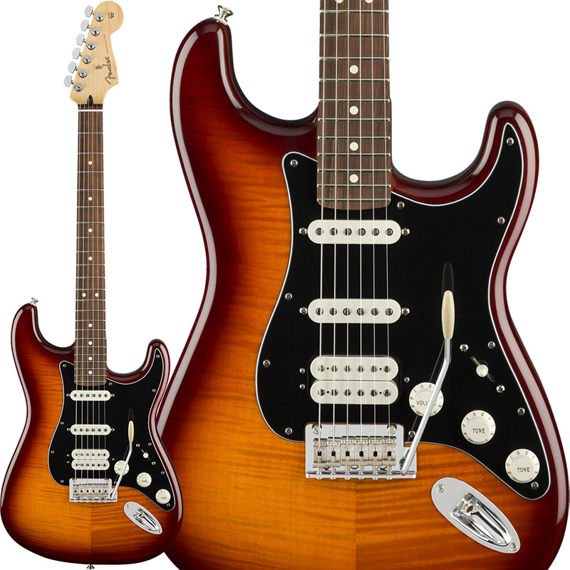Fender 《フェンダー》 Player Stratocaster HSS Plus Top (Tobacco Sunburst/Pau Ferro) [Made In Mexico] 【g_p5】