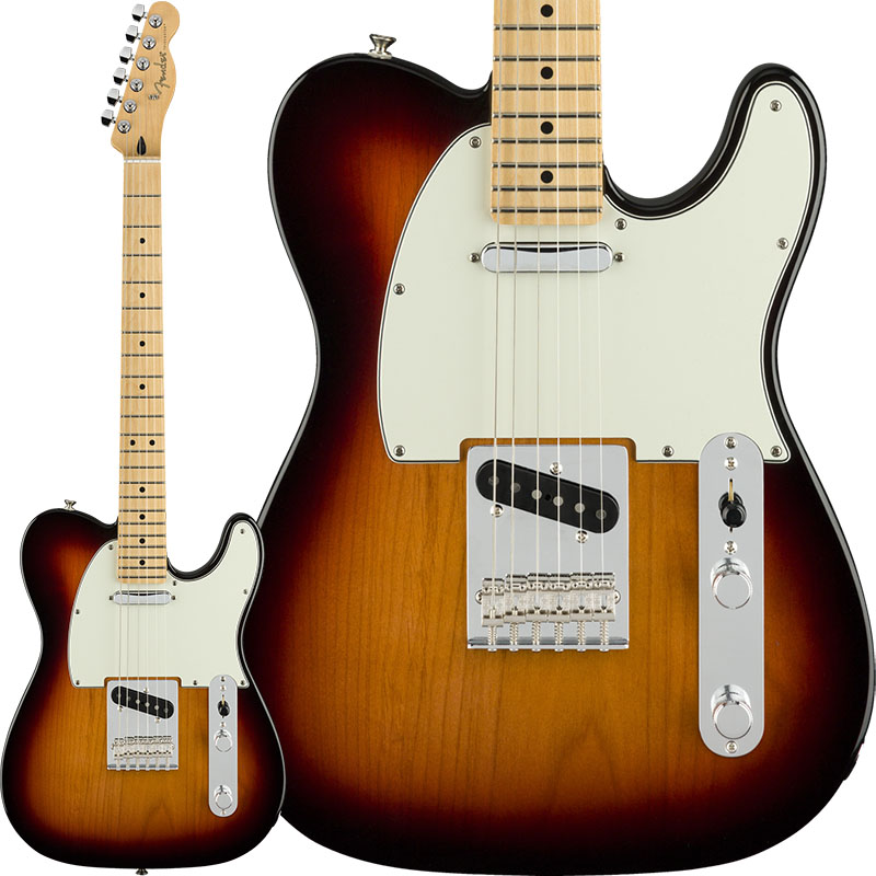 Fender 《フェンダー》 Player Telecaster (3-Color Sunburst/Maple) [Made In Mexico] 【7月以降順次入荷】