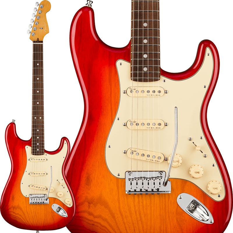 Fender 《フェンダー》 American Ultra Stratocaster Ash (Plasma Red Burst/Rosewood)