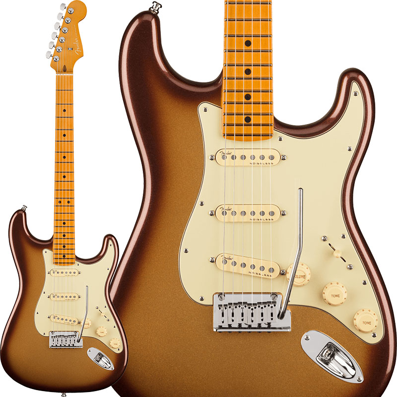 Fender 《フェンダー》 American Ultra Stratocaster (Mocha Burst/Maple)