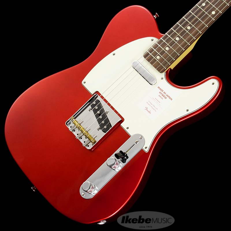 Fender《フェンダー》 Made In Japan Hybrid 60s Telecaster (Candy Apple Red) [Made in Japan] 【お取り寄せ品】【g_p5】