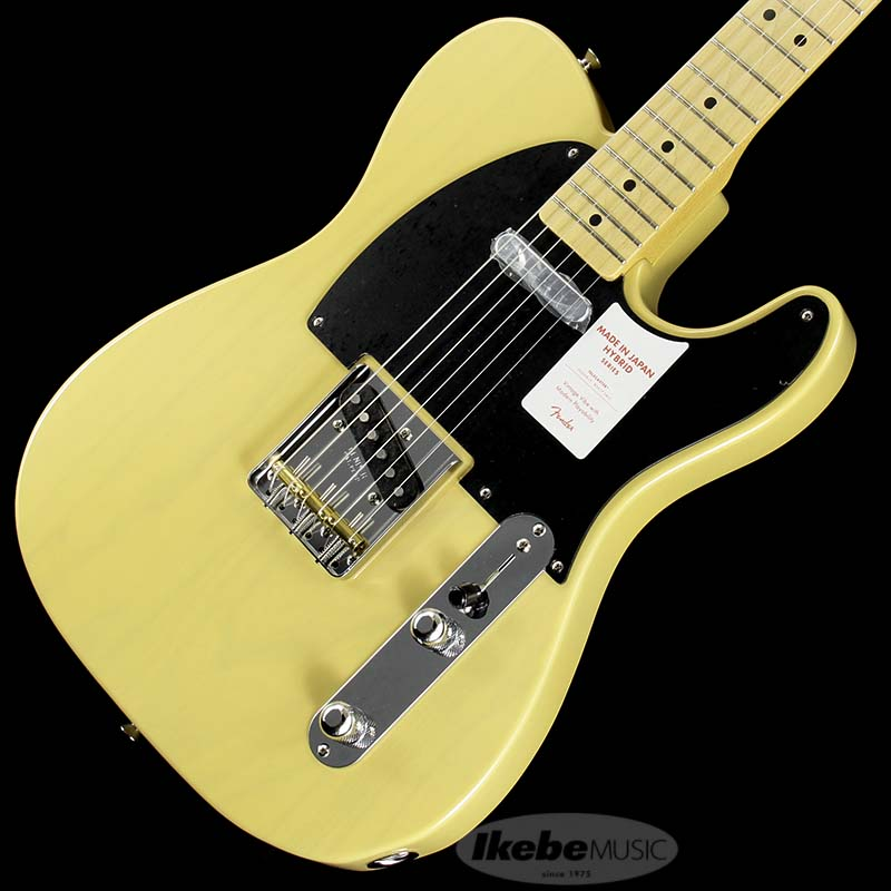 Fender《フェンダー》 Made in Japan Hybrid 50s Telecaster (Off White Blonde) [Made in Japan]
