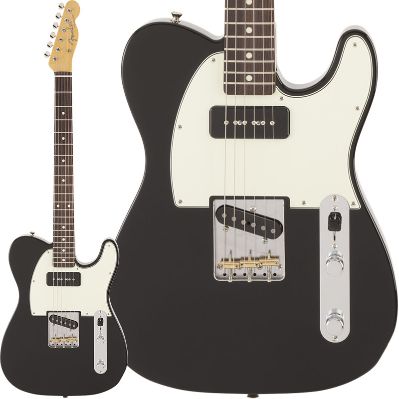 Fender《フェンダー》 in Made Made in Japan FSR Hybrid 60s Hybrid Telecaster P-90 (Black) [Made in Japan]【g_p5】, 総合通販のShopping Store Roco:4aceffd5 --- officewill.xsrv.jp