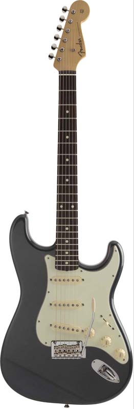 Fender《フェンダー》 Made In Japan Hybrid 60s Stratocaster (Charcoal Frost Metallic) [Made in Japan]【g_p5】