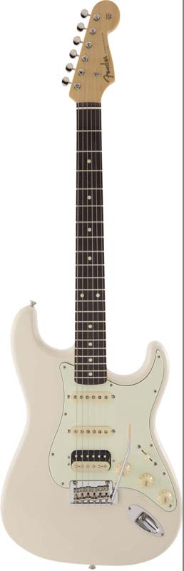 Fender《フェンダー》 Made In Japan Hybrid 60s Stratocaster HSS (Vintage White) [Made in Japan]【数量限定!ギターアンプ VOX Pathfinder10プレゼント!!】【g_p5】