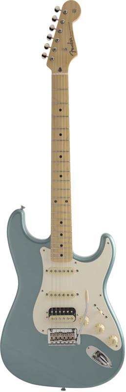 Fender《フェンダー》 Made In Japan Hybrid 50s Stratocaster HSS (Ocean Turquoise Metallic) [Made in Japan]【数量限定!ギターアンプ VOX Pathfinder10プレゼント!!】【g_p5】