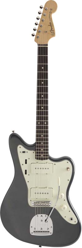 Fender《フェンダー》 Made In Japan Hybrid 60s Jazzmaster (Charcoal Frost Metallic) [Made in Japan] 【数量限定!ギターアンプ VOX Pathfinder10プレゼント!!】【g_p5】