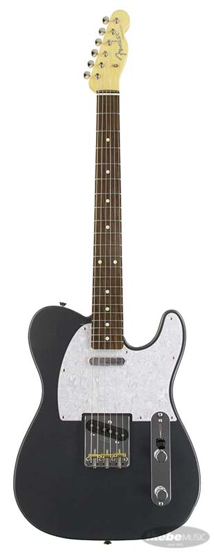 Fender《フェンダー》 Made In Japan Hybrid 60s Telecaster With White Pearl Pickguard (Charcoal Frost Metallic) [Made in Japan] 【g_p5】