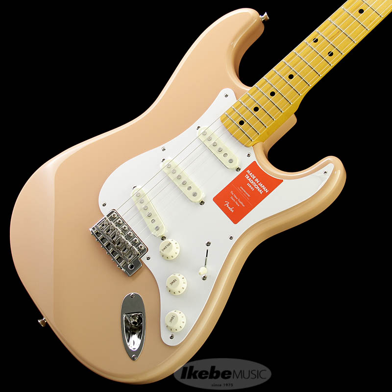 Fender Made in Japan Traditional 《フェンダー》 Traditional 58 Stratocaster (Flamingo Pink) [Made in Japan] 【g_p5】