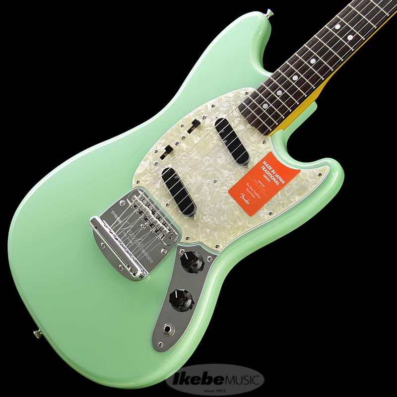 Fender Made in Japan Traditional 《フェンダー》 Traditional 60s Mustang (Surf Green) [Made in Japan] 【g_p5】