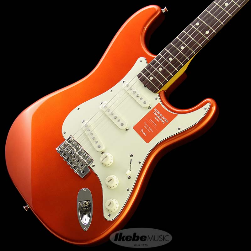 Fender Made in Japan Traditional 《フェンダー》 Traditional 60s Stratocaster (Candy Tangerine) [Made in Japan] 【g_p5】