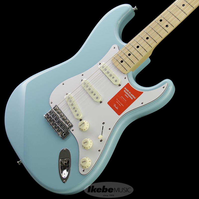 Fender Made in Japan Traditional 《フェンダー》 Traditional 70s Stratocaster (Daphne Blue/M) [Made in Japan] 【g_p5】