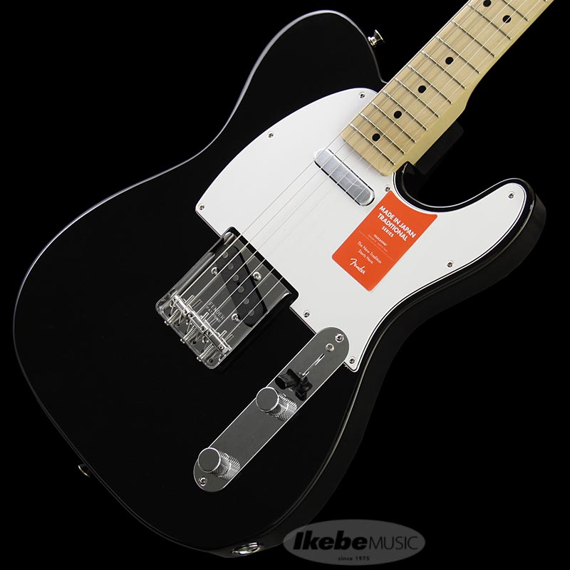 Fender Made in Japan Traditional 《フェンダー》 Traditional 70s Telecaster Ash (Black/M) [Made in Japan] 【g_p5】