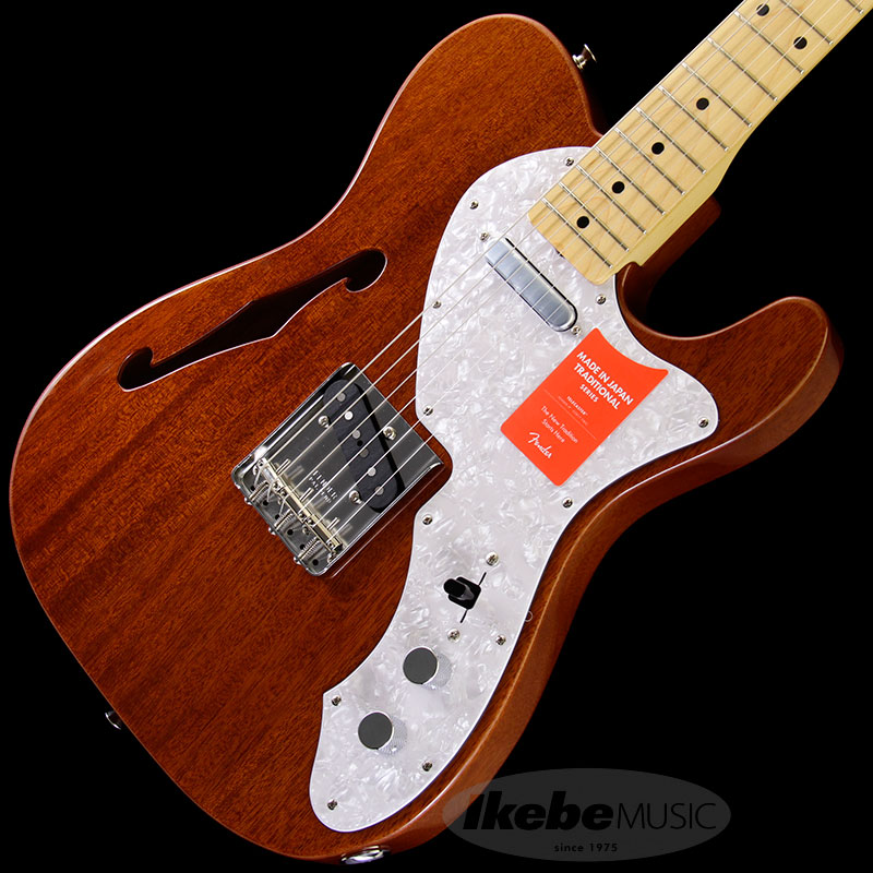 Fender Made in Japan Traditional 《フェンダー》 Traditional '69 Telecaster Thinline (Natural) [Made in Japan] 【g_p5】