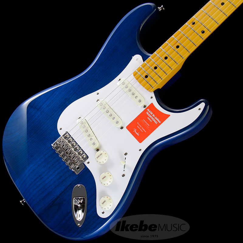 Fender Made in Japan Traditional 《フェンダー》 Traditional 58 Stratocaster (Sapphire Blue Trans) [Made in Japan] 【g_p5】