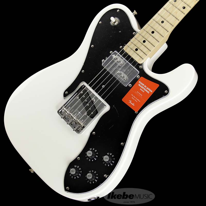 Fender Made in Japan Traditional 《フェンダー》 Traditional 70s Telecaster Custom (Arctic White/Maple) [Made in Japan] 【g_p5】