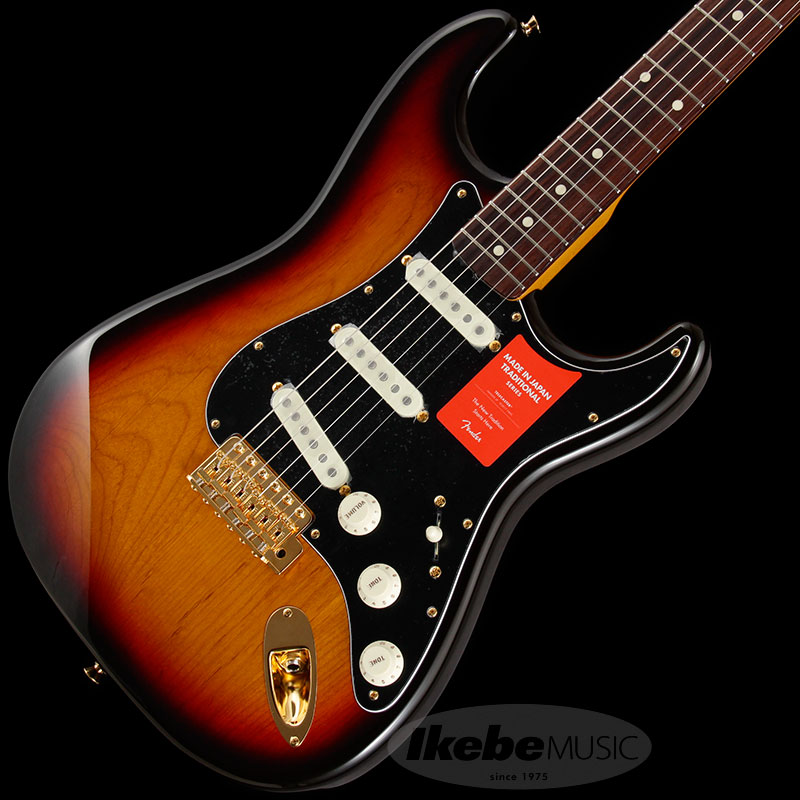 Fender Made in Japan Traditional 《フェンダー》 Traditional 60s Stratocaster w/Gold Hardware (3-Color Sunburst) [Made in Japan] 【g_p5】