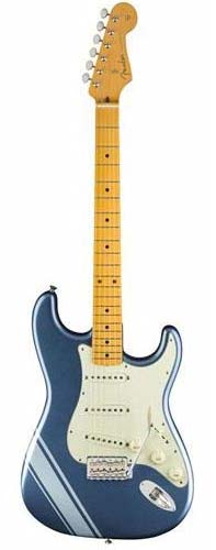 Fender Made in Japan Traditional 《フェンダー》 FSR Made In Japan Traditional 50s Stratocaster with Competition Stripe (Lake Placid Blue with Ice Blue Metallic Stripes) [Made in Japan]【g_p5】