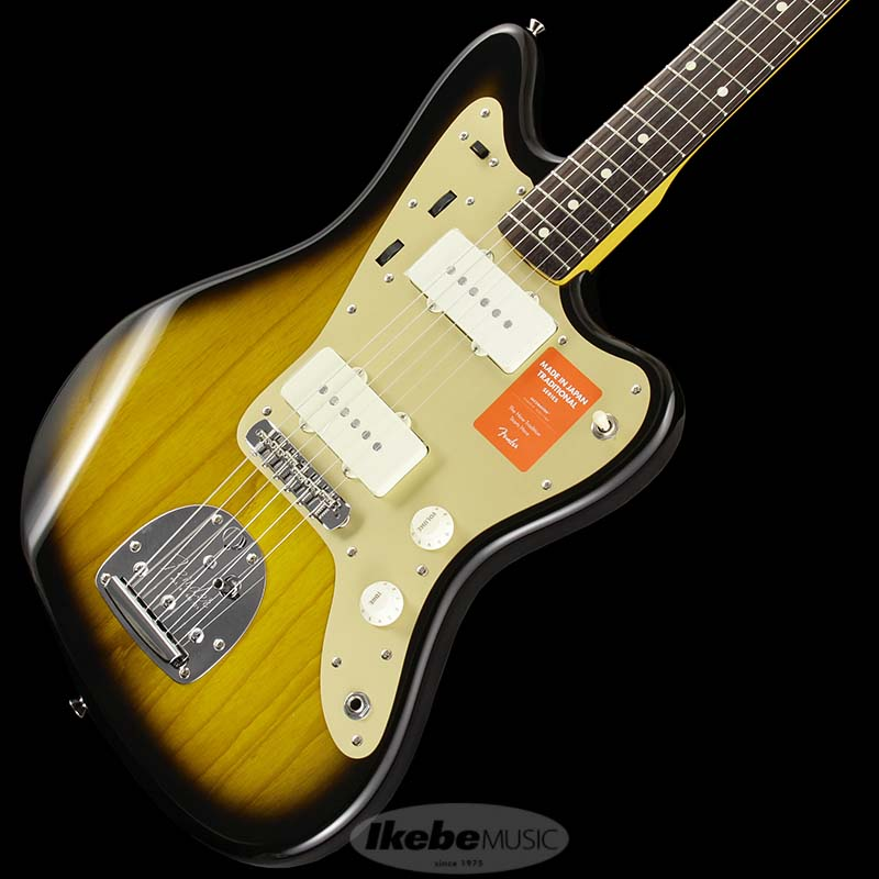 Fender Made in Japan Traditional 《フェンダー》 Traditional 60s Jazzmaster Anodized (2 Color Sunburst) [Made in Japan]【g_p5】