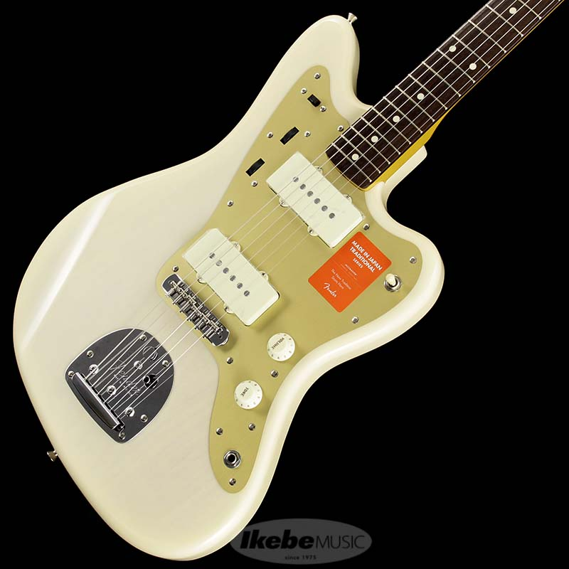 Fender Made in Japan Traditional 《フェンダー》 Traditional 60s Jazzmaster Anodized (White Blonde) [Made in Japan]【g_p5】