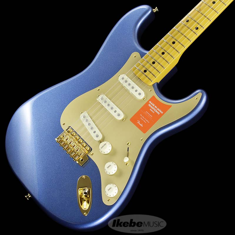 Fender Made in Japan Traditional 《フェンダー》 Traditional 50s Stratocaster Anodized (Lake Placid Blue) [Made in Japan]【g_p5】