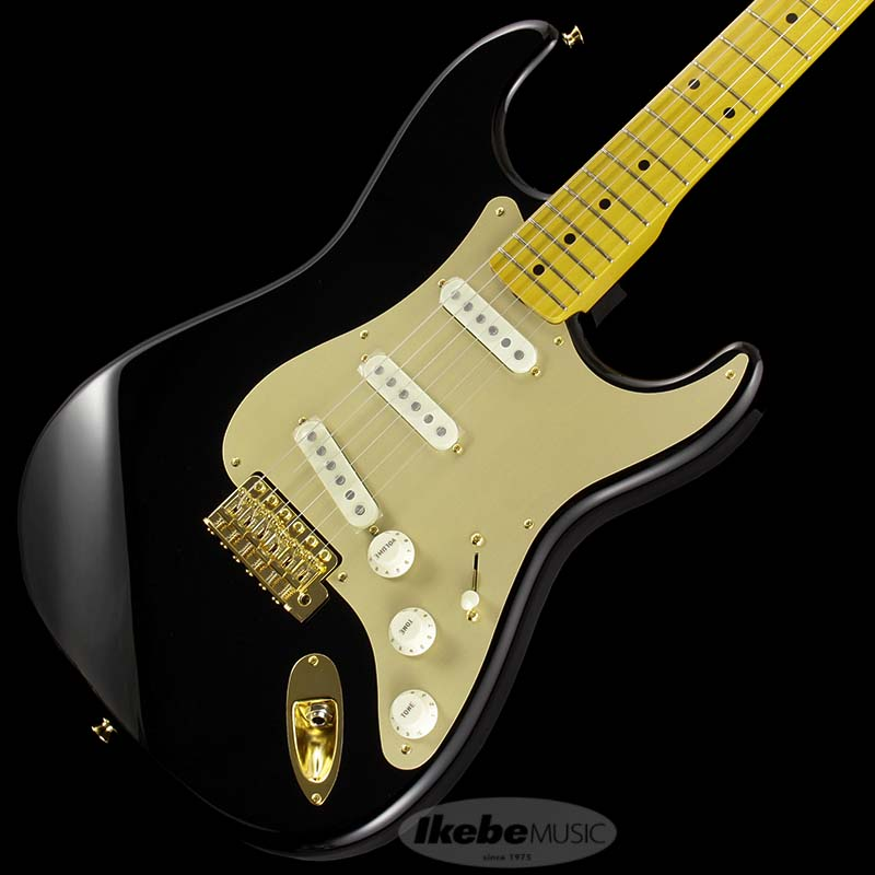Fender Made in Japan Traditional 《フェンダー》 Traditional 50s Stratocaster Anodized (Black) [Made in Japan]【g_p5】